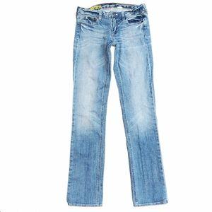 J Crew Matchstick Light Wash Skinny Jeans 26 Reg
